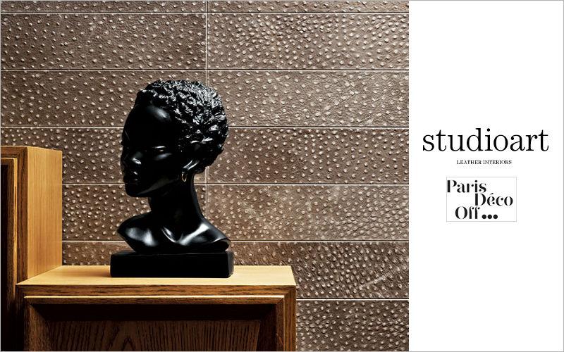 STUDIOART Rivestimento quadrato in cuoio Altri rivestimenti per muri Pareti & Soffitti  |