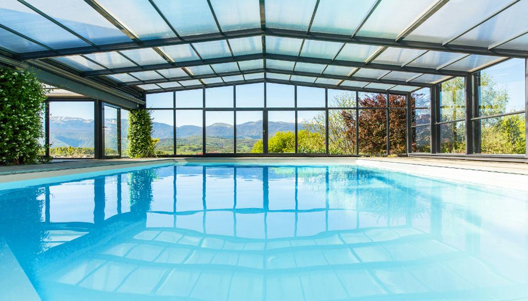 Abrideal Copertura alta scorrevole per piscina Coperture per piscine Piscina e Spa  |