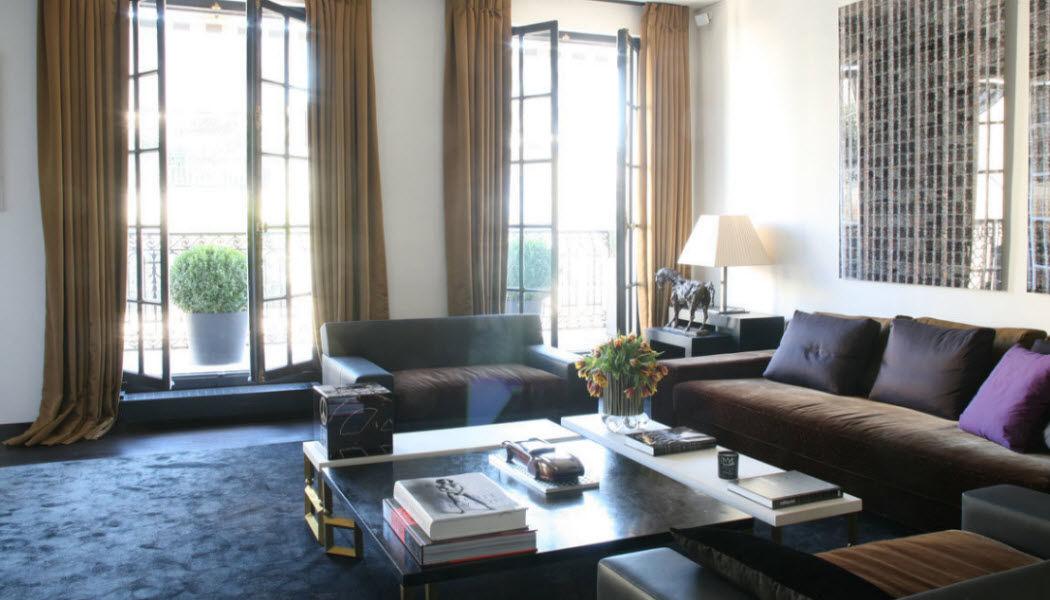 Arnauld de Petitville Progetto architettonico per interni Progetti architettonici per interni Case indipendenti Salotto-Bar | Design Contemporaneo