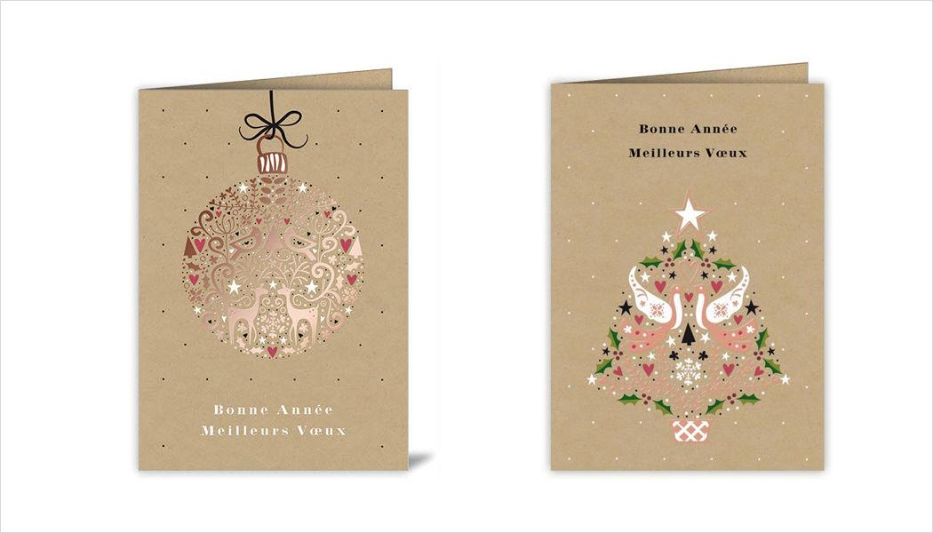 Acte tre Biglietto di Natale Addobbi natalizi Natale Cerimonie e Feste  |