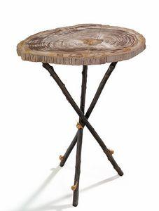 Tavolino rotondo per esterni