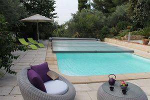 Sun Abris Copertura bassa motorizzata per piscina