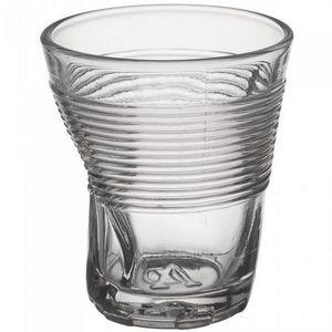 La Chaise Longue - verre froissé transparent (x4) - Bicchiere