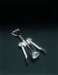 WHITE LABEL - tire-bouchons à levier en métal chromé -