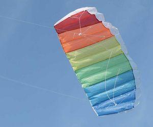 MT & Co - cerf-volant coloré à double commande 120x55cm - Aquilone
