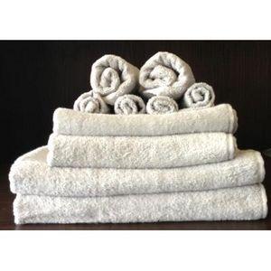 TODAY - set serviettes de bain zinc - Asciugamano Toilette