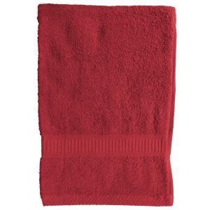 TODAY - serviette de toilette 50 x 90 cm - couleur - rouge - Asciugamano Toilette