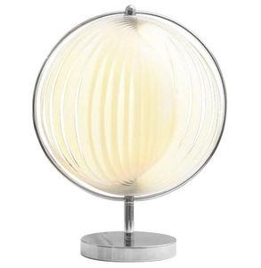 KOKOON DESIGN - lampe design bowl blanche 31x45cm - Lampada Da Tavolo