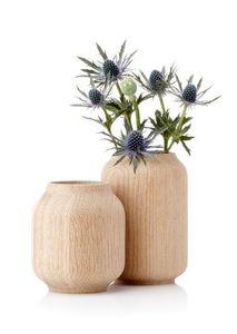 Applicata - poppy blue flowers - Vaso Decorativo