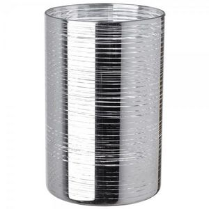 La Chaise Longue - photophore silverlines - Bicchiere Portacandela