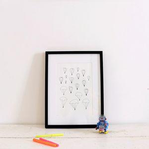 ATELIER MOUTI -  - Disegno A Inchiostro