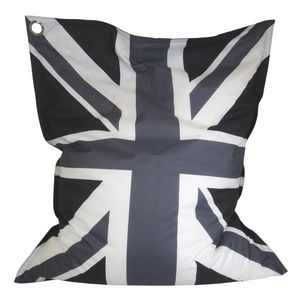 Cotton Wood - grand coussin imprimé maxi union jack - Pouf Per Esterni