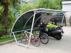 MOBURBAIN - abri vélos type n° 12-e-tubo - Riparo Per Biciclette
