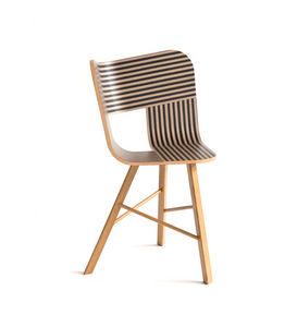 COLE - tria wood chair- - Sedia