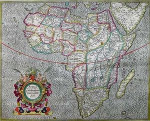 ARADER GALLERIES - africa - Carta Geografica