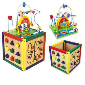 Andreu-Toys - dado 5 actividades - Giocattolo Prima Infanzia