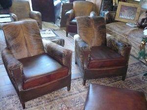 L'atelier du fauteuil club - authentiques fauteuils année 1930 - Poltrona Club