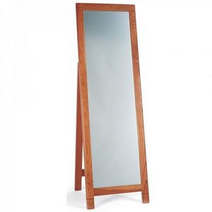 4 Living Furniture - cherry wood floor standing mirror - Specchietto Da Tavolo