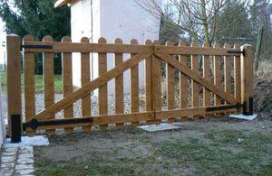 Découp'Bois -  - Cancello A Battente