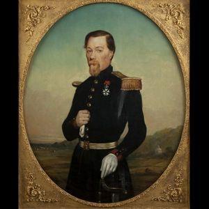 Expertissim - aug. bigot. portrait d'officier - Ritratto