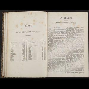 Expertissim - la sainte bible d'après la version de j.-f. oster - Libro Antico