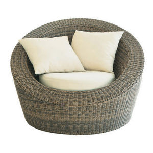MAISONS DU MONDE - fauteuil rond bali - Poltrona Da Terrazzo