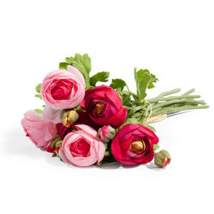 Maisons du monde - bouquet renoncules rose - Fiore Artificiale
