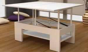 Pinald - 24220 - Tavolino Soggiorno Con Ripiano