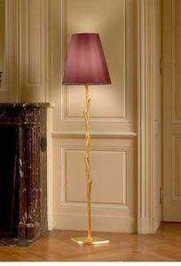 La maison de Brune - iris doré - Lampada Da Terra