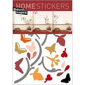 Nouvelles Images - stickers adhésif papillons nouvelles images - Sticker