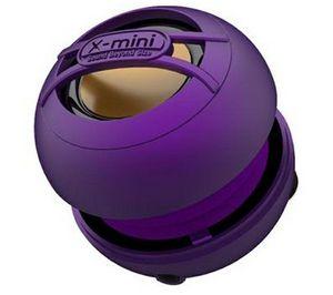 X-MINI - enceinte x-mini uno - violet - Altoparlante Docking Ipod/mp3