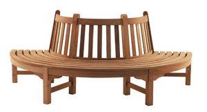 Tectona - circle bench - Panca Da Giardino Circolare