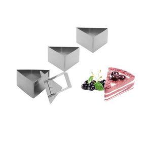 saveur & dégustation - saveur & dégustation - 3 emporte-pièces en inox av - Tagliabiscotti