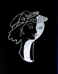 ARMAND ISRAËL - elle et lui de georges braque lithograph - Litografia