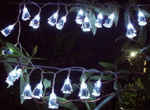 FEERIE SOLAIRE - guirlande solaire pingouins 20 leds blanches 3m80 - Ghirlanda Luminosa
