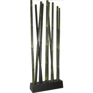 Aubry-Gaspard - paravent design en bambou vert - Paravento Separé