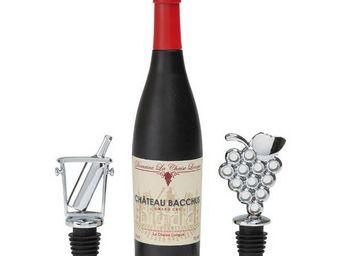 La Chaise Longue - coffret tire bouchon bouteille + 2 bouchons - Tappo Bottiglia