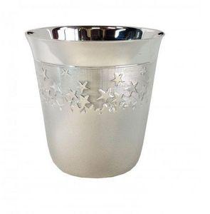 ORFEVRERIE BAUDINO - etoiles - Bicchiere Di Metallo