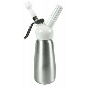 Yoko design - siphon 250 ml aluminium brossé - Sifone Panna Montata