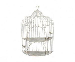 Demeure et Jardin - petite etagère cage en fer forgé - Mensola Cucina