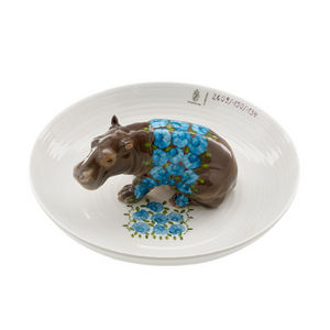 Nymphenburg - coupe hippopotame - Coppa Decorativa