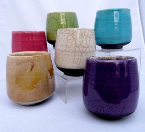 KAOLIN CREATIONS - gobelet raku - Bicchiere