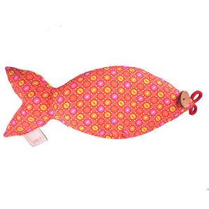 ROSSO CUORE - seeds pillow pesce - Cuscino Ergonomico