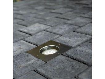 Nordlux - spot encastré de sol carré tilos - Faretto / Spot Da Incasso Per Pavimento