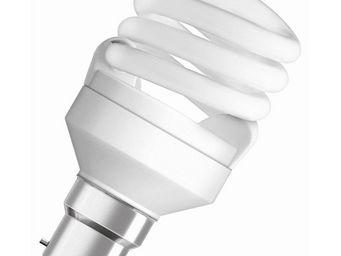 Osram - ampoule fluo compacte spirale b22 2500k 14w = 60w  - Lampada Fluorescente Compatta
