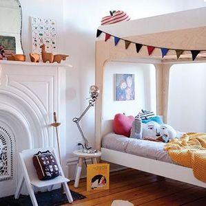 Oeuf - perch twin bunk bed - Letto A Castello Per Bambino
