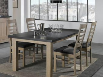 Ateliers De Langres - table whitney - Tavolo Da Pranzo Rettangolare