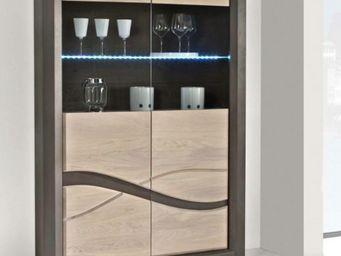 Ateliers De Langres - vitrine oceane - Armadio Vetrina / Cristalliera