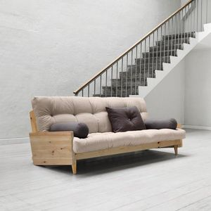 WHITE LABEL - canapé 3/4 places convertible indie style scandina - Divano Relax