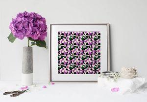 la Magie dans l'Image - print art puzzle parme - Poster